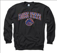 Boise State Broncos Black Perennial II Crewneck Sweatshirt