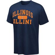Illinois Fighting Illini Navy Piller T-Shirt