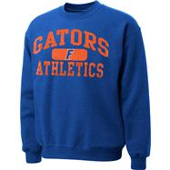 Florida Gators Royal Piller Crewneck Sweatshirt