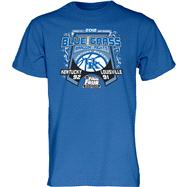 Kentucky Wildcats Royal 2012 NCAA Basketball Final Four Bragging Rights Score T-Shirt