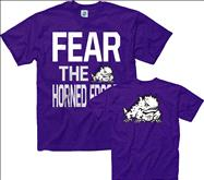 TCU Horned Frogs Purple Fear T-Shirt