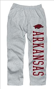 Arkansas Razorbacks Grey Couch Island Sweatpants