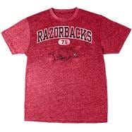 Arkansas Razorbacks Cardinal Heather Arch T-Shirt