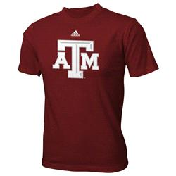 Texas A&M Aggies Maroon adidas Kids 4-7 Logo T-Shirt