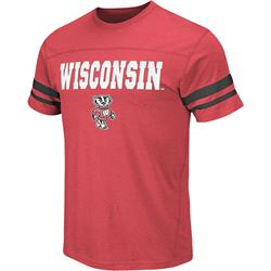 Wisconsin Badgers Red Armory T-Shirt
