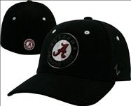 Alabama Crimson Tide Black Revolt Highlight Flex Hat