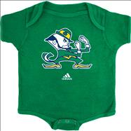 Notre Dame Fighting Irish Newborn Green adidas Leprechaun Logo Creeper