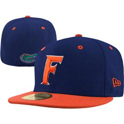 Florida Gators New Era Royal/Orange 59FIFTY Fitted Hat
