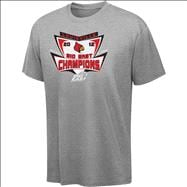 Louisville Cardinals Youth 2012 Big East Conference Football Champions Backhand T-Shirt