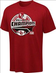 Oklahoma Sooners Youth Cardinal 2012 Big 12 Conference Football Champions Bunt T-Shirt