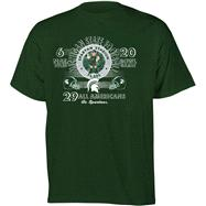 Michigan State Spartans Football Diode Retro Graphic Stat T-Shirt