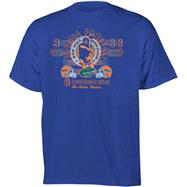 Florida Gators Football Diode Retro Graphic Stat T-Shirt