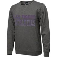 LSU Tigers Purple Knockout Slub Knit T-Shirt