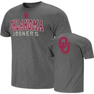 Oklahoma Sooners Charcoal Harley Slub Knit T-Shirt