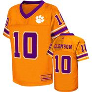Clemson Tigers Kids 4-7 Orange Stadium Football Jersey