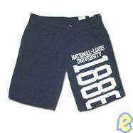 NLU Ladies Navy Shorts