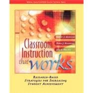 Classroom Instruction That Works : Research-Based Strategies for Increasing Student Achievement,9780131195035