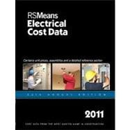 RSMeans Electrical Cost Data 2011, 9781936335053  