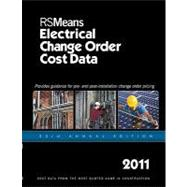 Rsmeans Electrical Change Order Cost Data 2011, 9781936335060  
