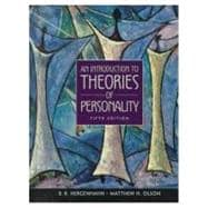 An Introduction to Theories of Personality,9780138955090