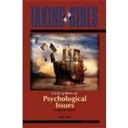Taking Sides: Clashing Views on Psychological Issues,9780073515106
