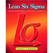 Lean Six Sigma,9780135125106