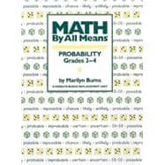 Math by All Means : Probability for Grades 3-4, 9780941355124