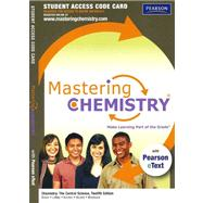 MasteringChemistry with Pearson eText -- Standalone Access Card -- for Chemistry The Central Science,9780321705129