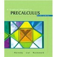 Graphical Approach to Precalculus with Limits, A