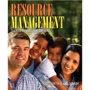 Resource Management for Individuals and Families,9780132955140