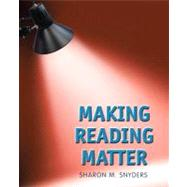 Making Reading Matter with MyReadingLab,9780205865178