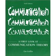 A First Look at Communication Theory with Conversations CD-ROM,9780073215181