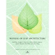 Manual of Leaf Architecture, 9780801475184  