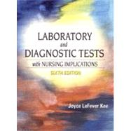 Laboratory and Diagnostic Tests with Nursing Implications,9780130305190