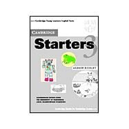 Cambridge Starters 3 Answer Booklet: Examination Papers from the University of Cambridge Local Examinations Syndicate