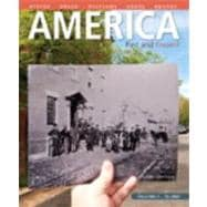 America Past and Present, Volume 1,9780205905195