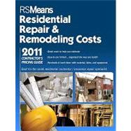 RS Means Residential Repair & Remodeling Costs 2011: Contrac..., 9781936335213  