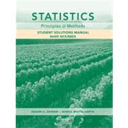 Statistics: Principles and Methods, 6th Edition,9780470535219