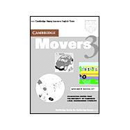 Cambridge Movers 3 Answer Booklet: Examination Papers from the University of Cambridge Local Examinations Syndicate
