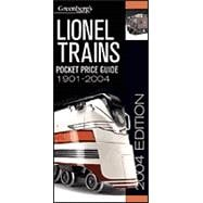 Greenberg's Pocket Price Guides Lionel 1901-2004, 9780897785259