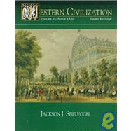 WESTERN CIVILIZATION VOL II: SINCE 1550,9780314205261