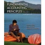 Fundamental Accounting Principles Volume 2 (Chapters 12-25),9780077525279