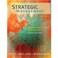 Strategic Management With Infotrac: Competiveness and Globalization