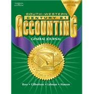 Century 21 Accounting, General Journal, Anniversary Edition, Chapters 1-26