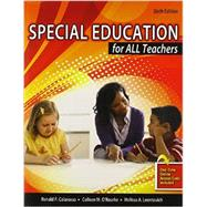 Special Education for All Teachers,9781465215291