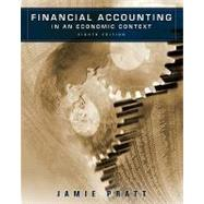 Financial Accounting in an Economic Context, 8th Edition,9780470635292