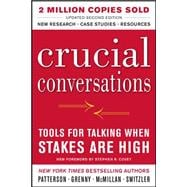 Crucial Conversations: Tools for Talking When Stakes Are High, Second Edition,9780071775304