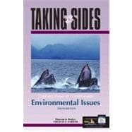 Taking Sides : Clashing Views on Controversial Environmental Issues,9780072855319