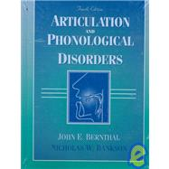 Articulation and Phonological Disorders,9780205305353