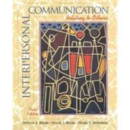 Interpersonal Communication : Relating to Others,9780205335374